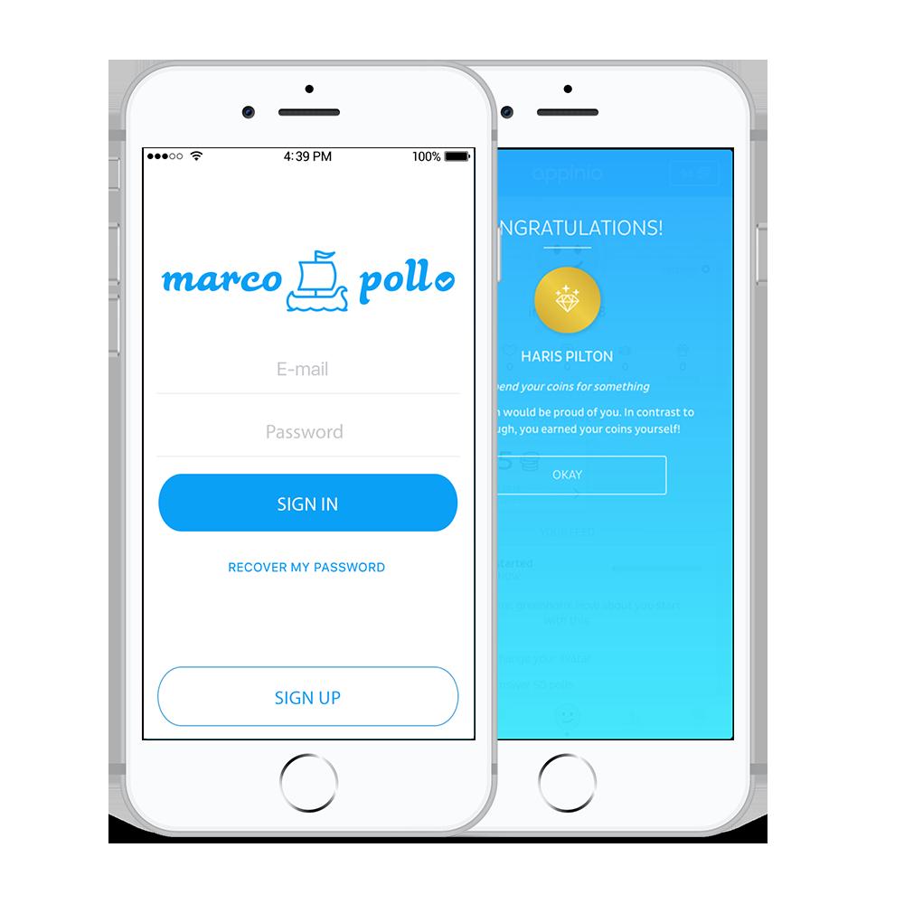 Мобильное приложение для опросов