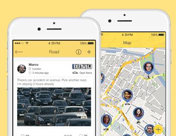 Социальная сеть для водителей
